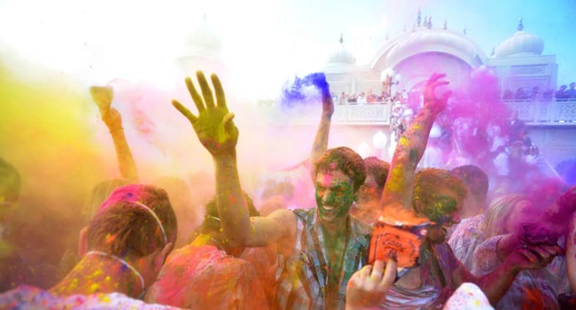 festival celebration of holi