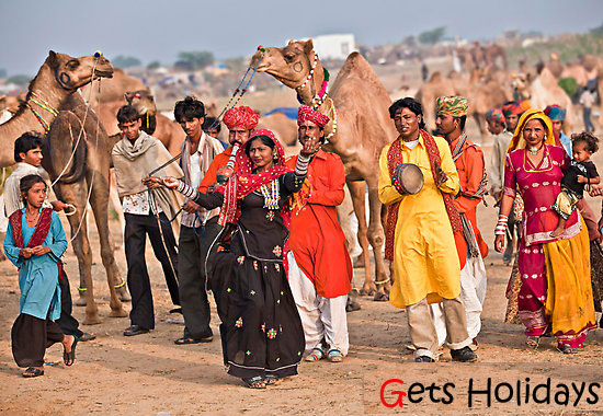 pushkar festival in rajasthan