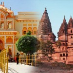 temple town of orchha