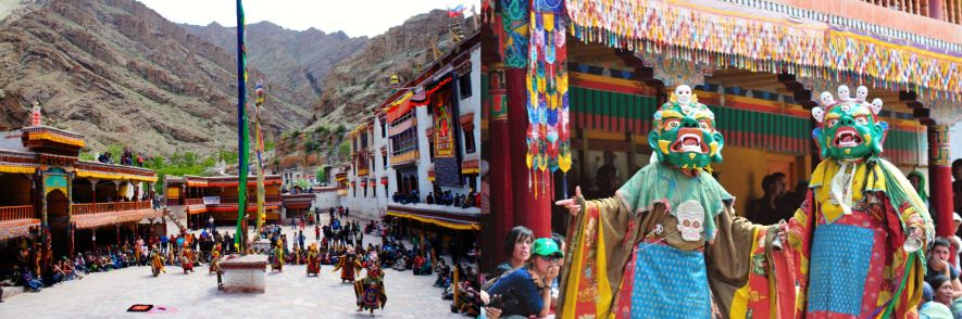 Hemis festivals of Leh, India