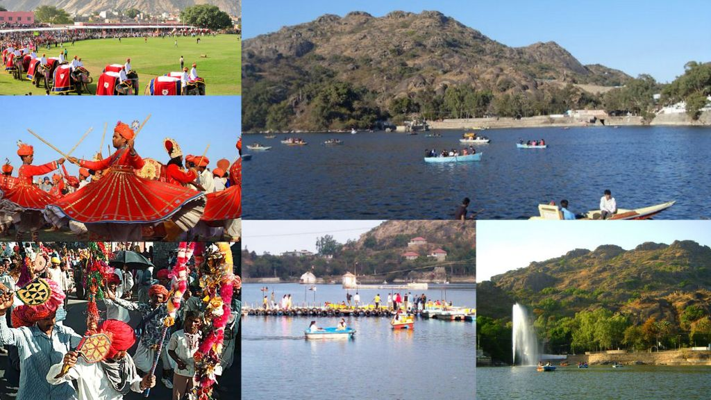 Mount Abu festival celebration