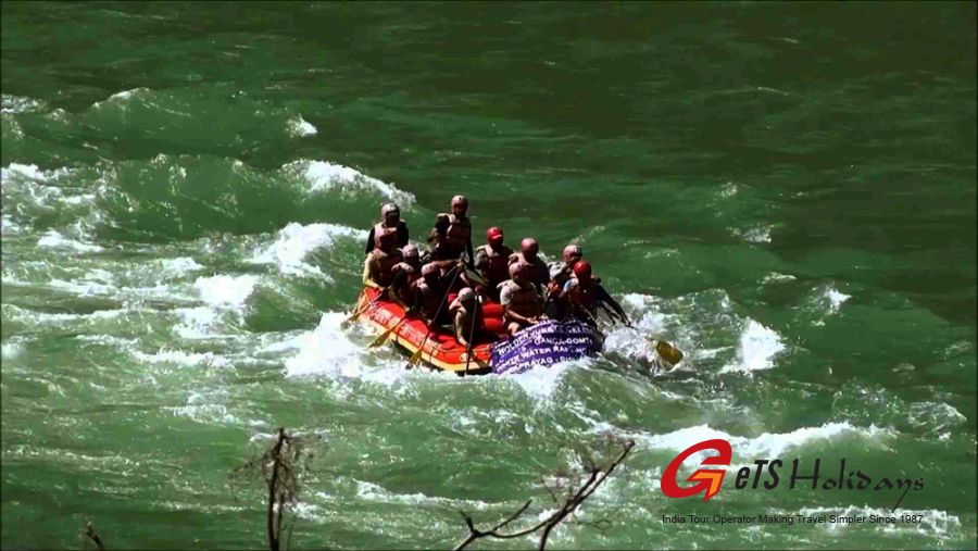 Lifetime Experience of river rafting