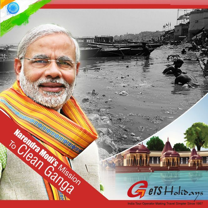 narendra modis mission ganga river clean
