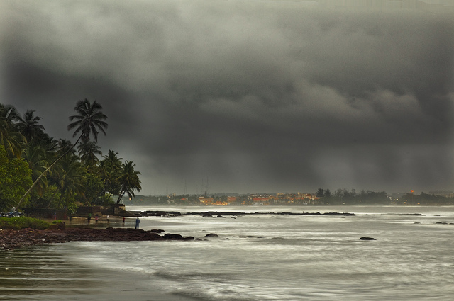 Goa monsoon