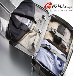 packing a travel bag
