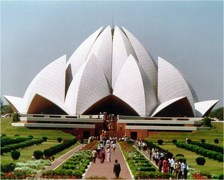 Bahai Temple The Other Name Of Delhi S Lotus Temple