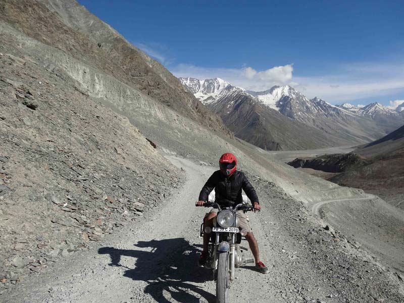 shimla- spiti bike ride