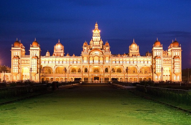 Mysore Palace Night