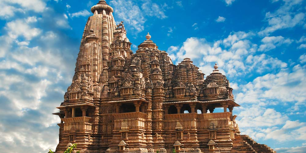 The-world-famous-temple-of-Khajuraho-India