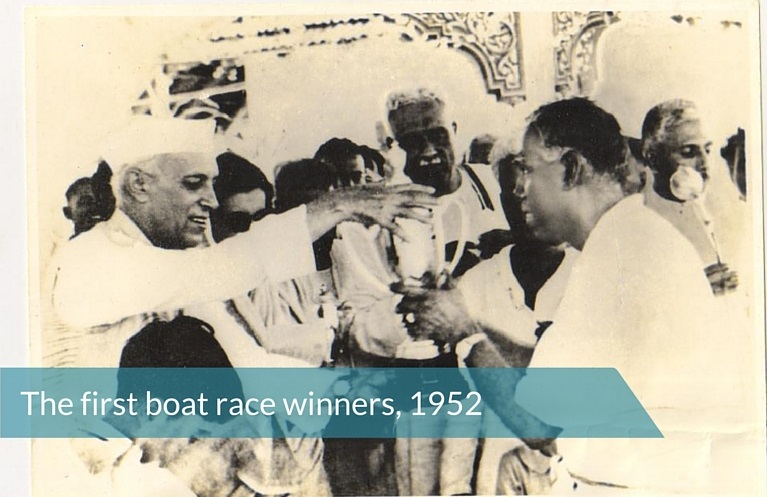 First boat race winners