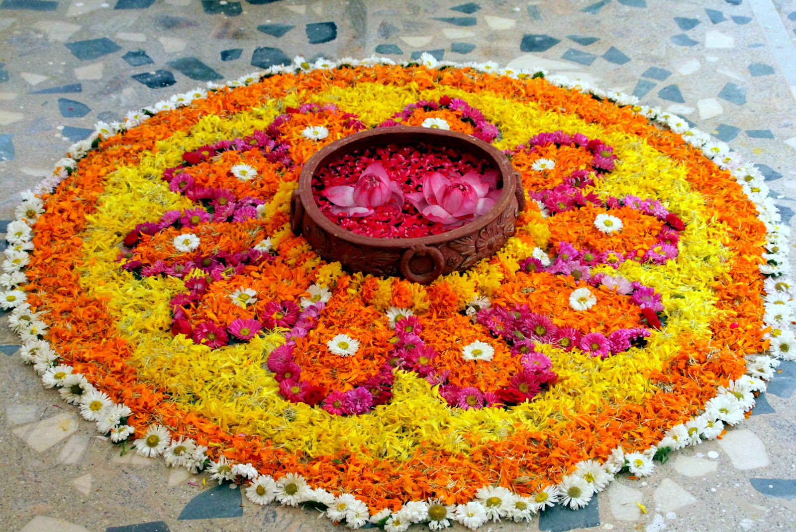 pookalam - onam celebrations