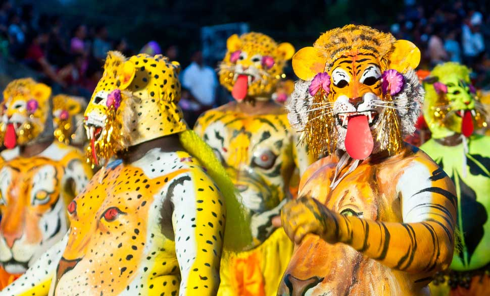 Onam-Pulikkali-Tiger-Play