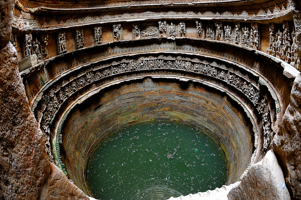 Step well at Rani ki Vav