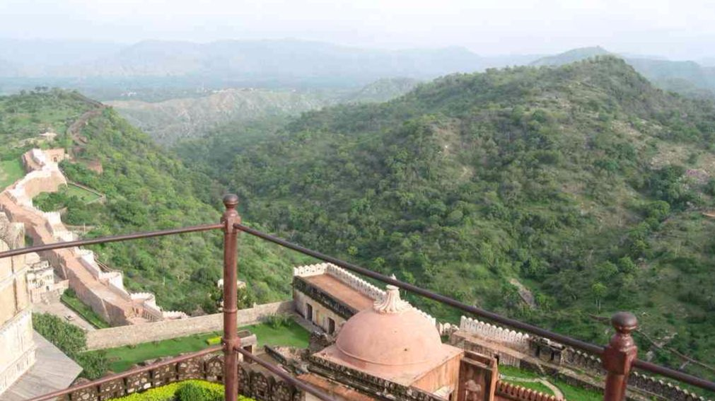 Bird's eye view from Badal Mahal