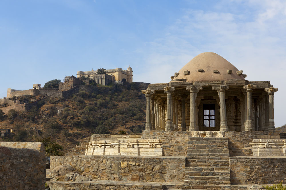 Temple within the Kumbhalgarh Fort