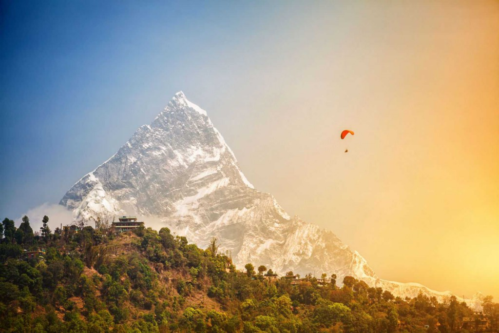 PARAGLIDING IN POKHARA VALLEY