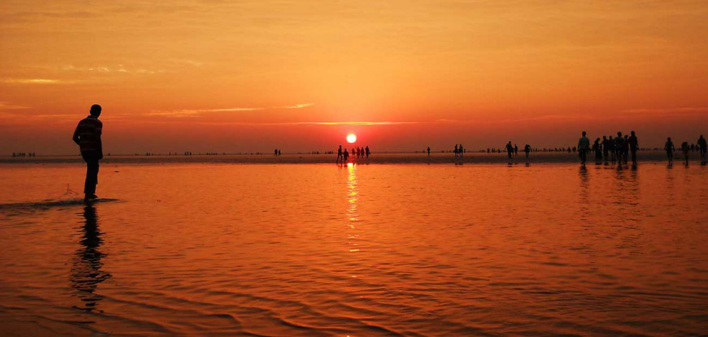 Sunset at Chandipur Beach; PC: Google Images