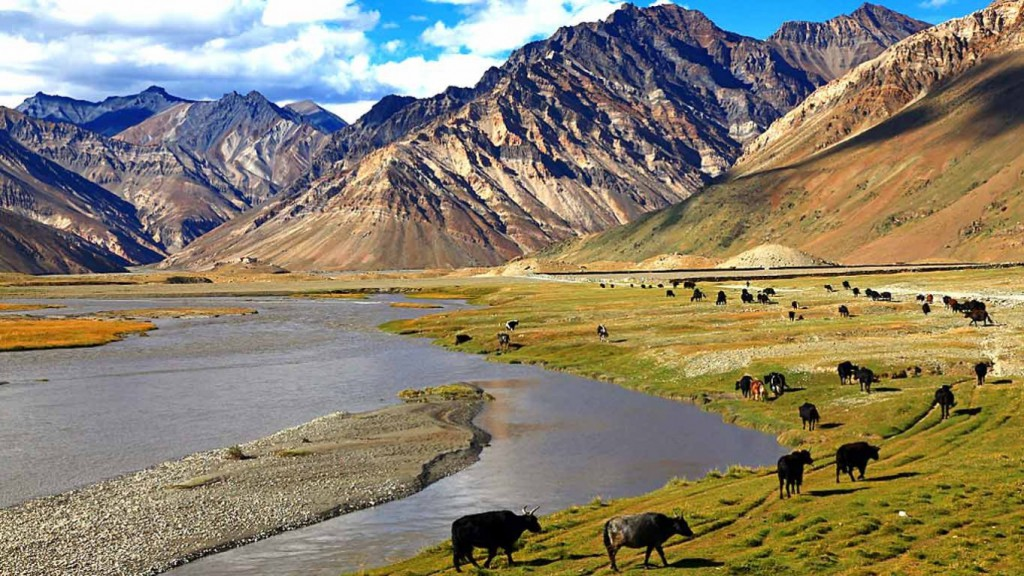 Zanskar-Valley-river